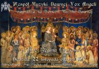 Ave Regina Gloriosa - koncert muzyki dawnej
