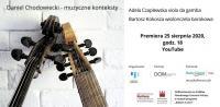 Premiera płyty - Daniel Chodowiecki - muzyczne konteksty