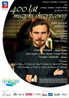 400 lat muzyki skrzypcowej - plakat