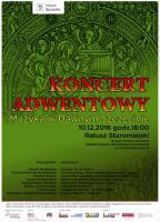 Koncert Adwentowy - plakat 2016