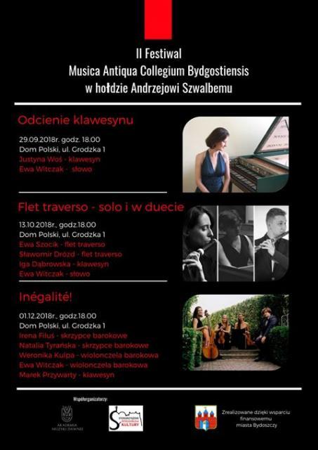 II Festiwal Musica Antiqua Collegium Bydgostiensis - plakat