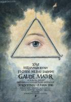 Plakat Inauguracja XXVI Międzynarodowego Festiwalu Muzyki Sakralnej Gaude Mater