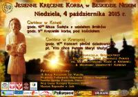 Jesienne Kręcenie Korbą 2015 - plakat