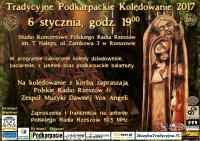 Kolędowanie z korbą w Polskim Radio Rzeszów