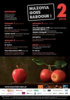 Mazovia Goes Baroque - epizod drugi (wyjątkowy) - plakat