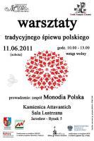 Monodia Polska - warsztaty