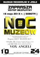 Noc Muzeów 2013 - Muzeum Regionalne w Jaśle