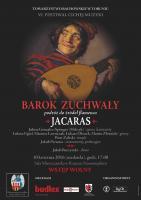 Plakat JACARAS VI Festiwal Cichej Muzyki
