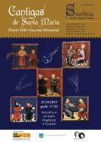 Cantigas de Santa Maria - plakat
