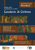Scandicus - Laudario do Cortona - plakat