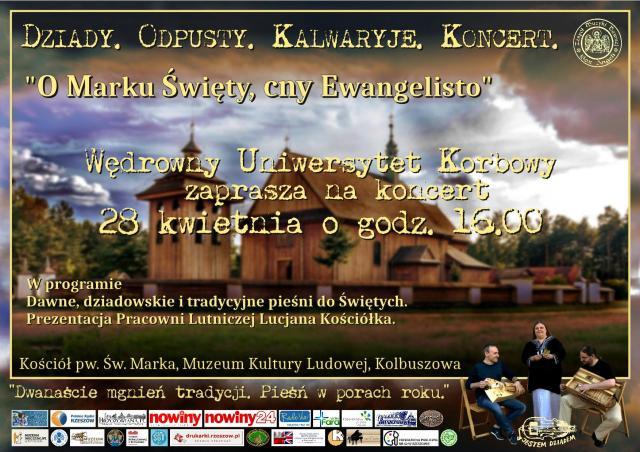 Wędrowny Uniwersytet Korbowy zaprasza na koncert