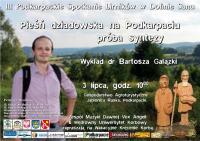 Wykład dr Bartosza Gałązki