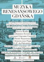 Muzyka Renesansowego Gdańska