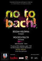 No to Bach plakat