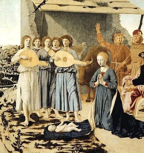 Narodzenie - Piero della Francesca