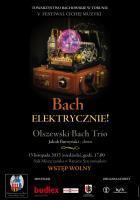 Plakat Bach elektrycznie